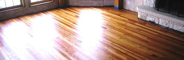 Long Leaf Pine Flooring | Mint Creek Farms - Austin, TX